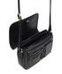 Black leather crossbody Sale - lloyd baker Sale