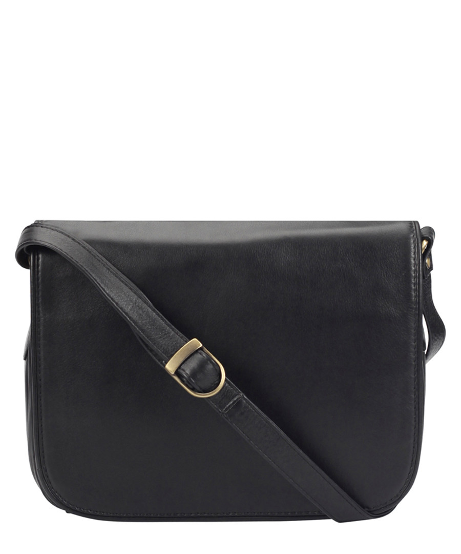 Black leather crossbody Sale - lloyd baker