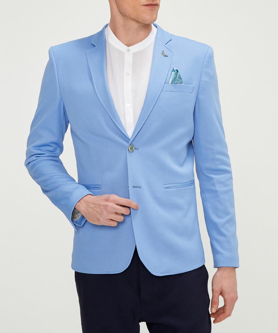 Blue cotton blend blazer Sale - rnt23