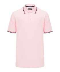 Pink pure cotton polo top