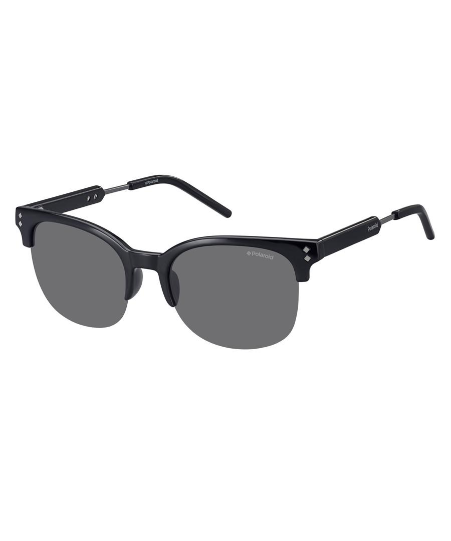 black acetate club sunglasses Sale - polaroid