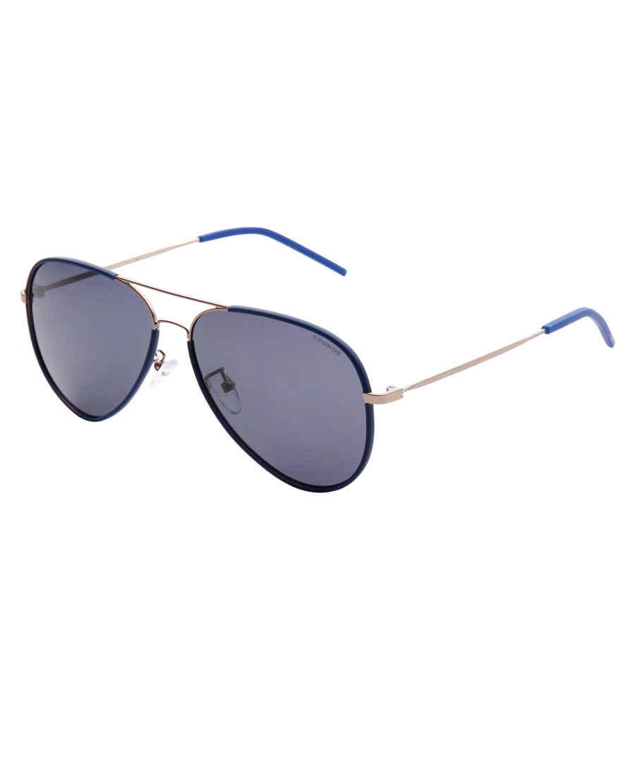 blue pilot sunglasses Sale - polaroid