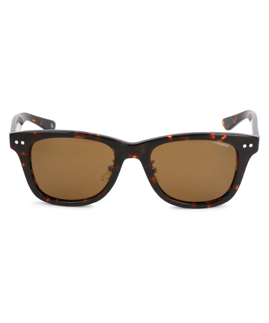 Havana D-frame sunglasses Sale - polaroid
