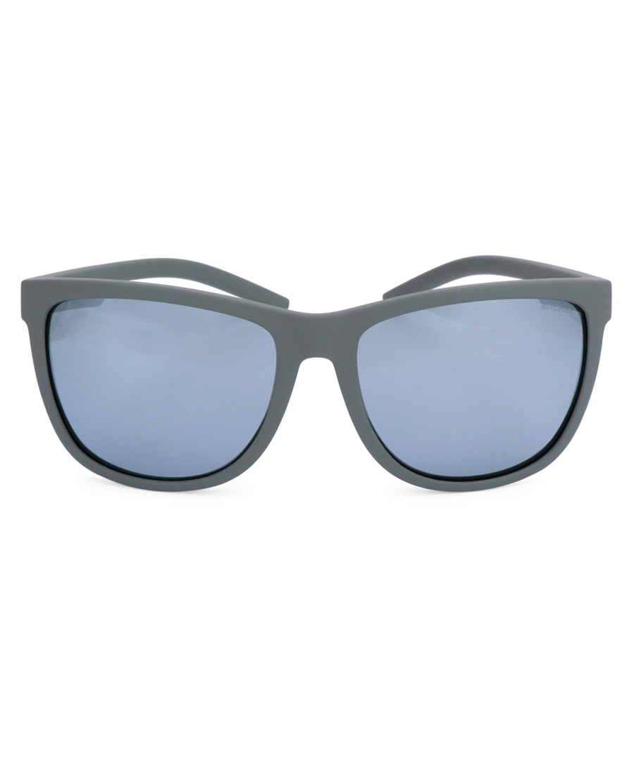 pewter rounded D-frame sunglasses Sale - polaroid