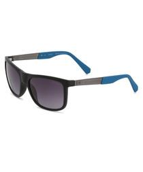 black metal squared sunglasses