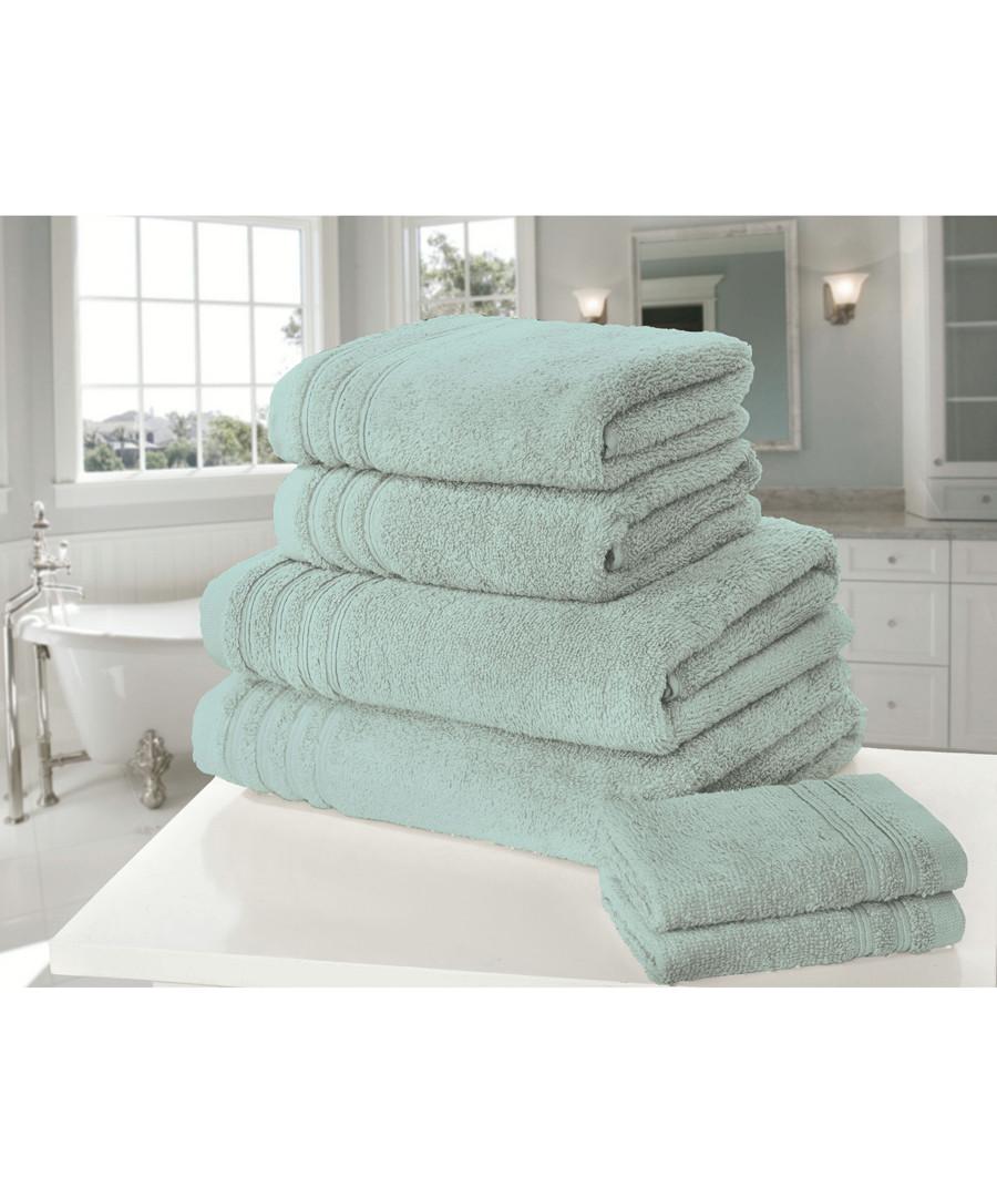 6pc So Soft duck egg cotton towel bales Sale - rapport home