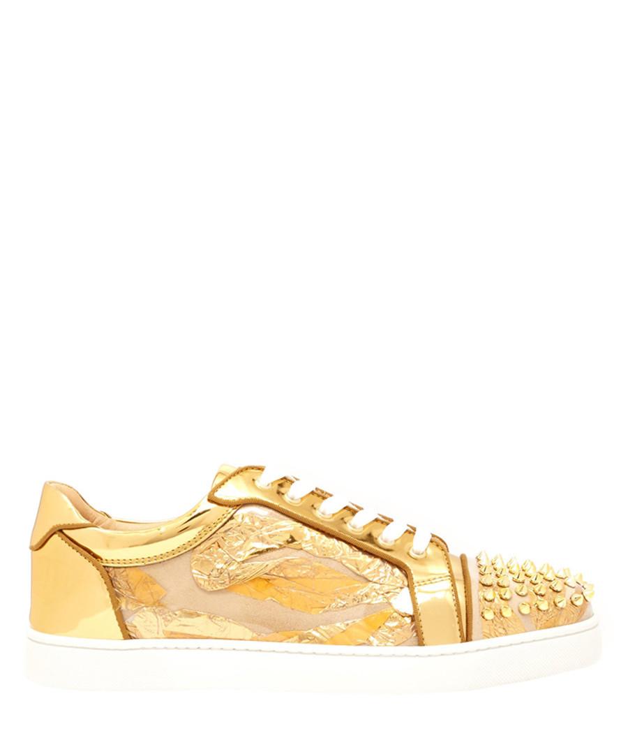 Vieira Spikes Orlato golden sneakers Sale - christian louboutin
