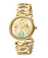 Gold-tone serpent dial watch Sale - just cavalli Sale