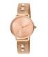 Rose gold-tone studded strap watch Sale - JUST CAVALLI Sale