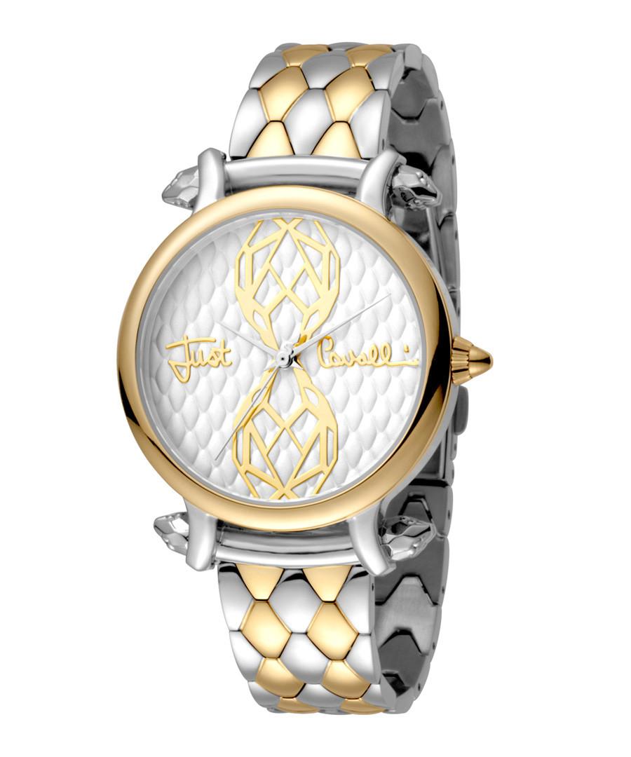 Dual-tone scale strap watch Sale - JUST CAVALLI