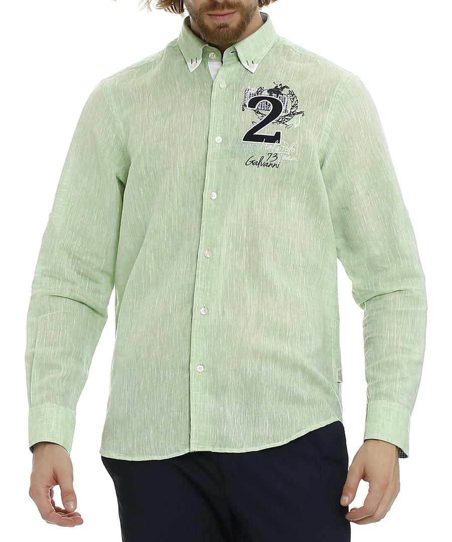 Ambrosia button-up crest detail shirt Sale - galvanni