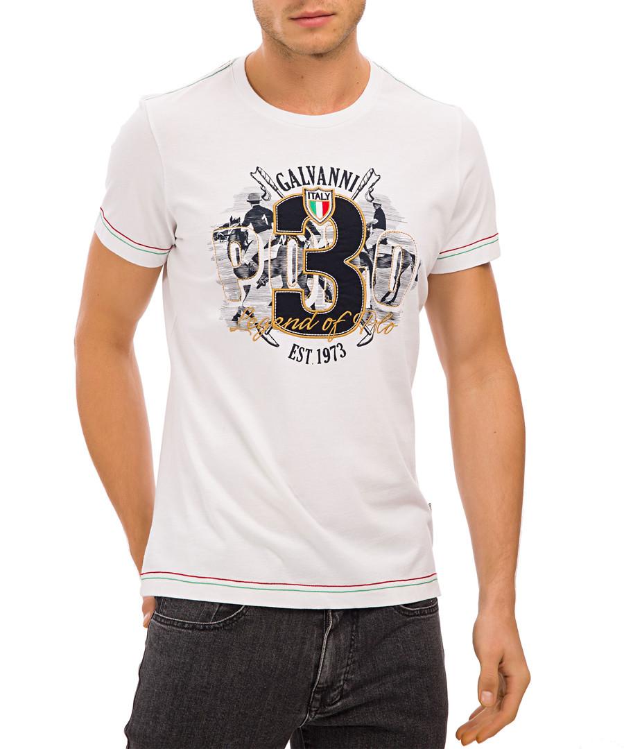 White pure cotton graphic T-shirt Sale - galvanni