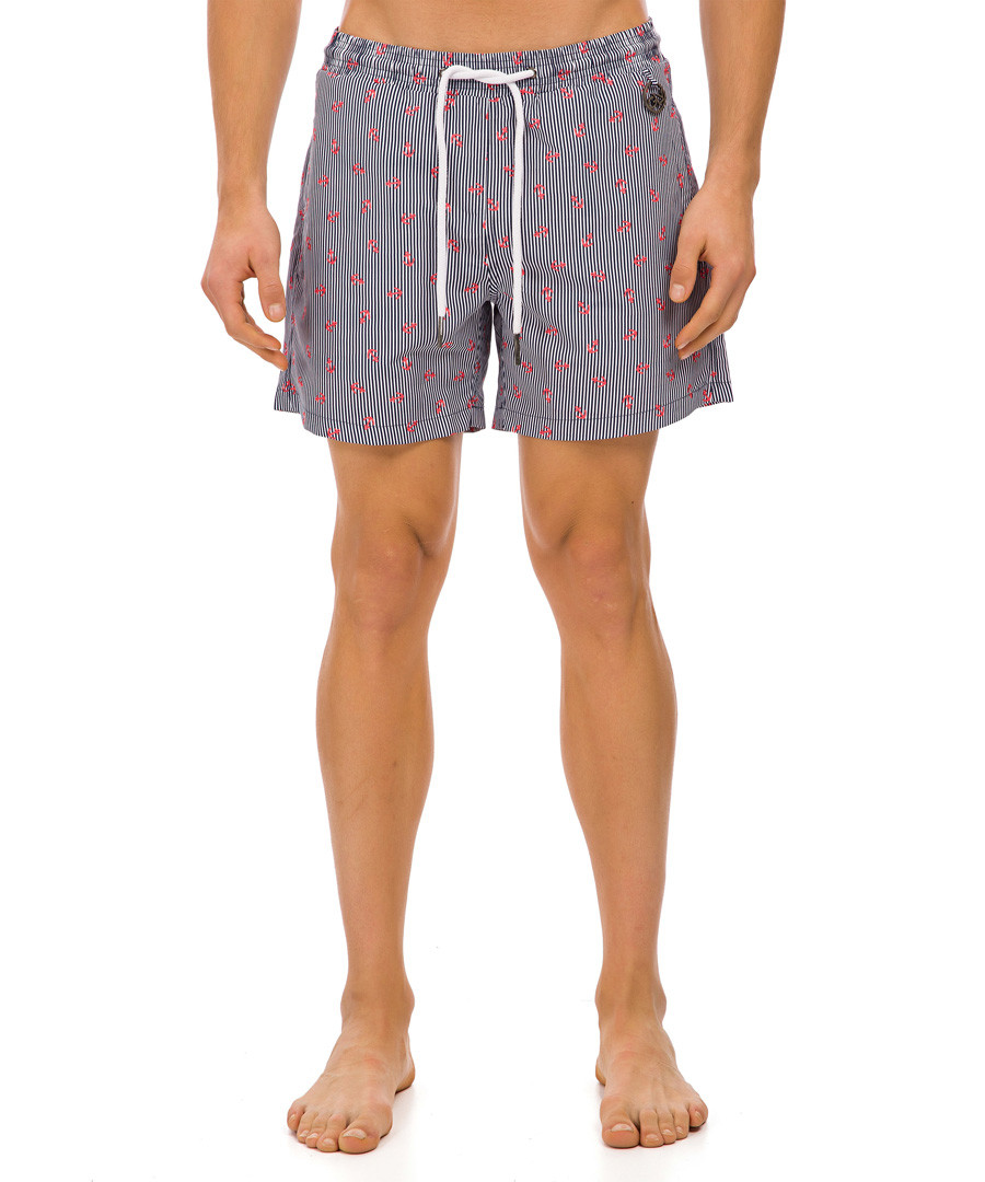 Myanmar multi-colour  anchor shorts Sale - galvanni