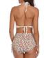 Multi-colour print bikini set Sale - kecole Sale