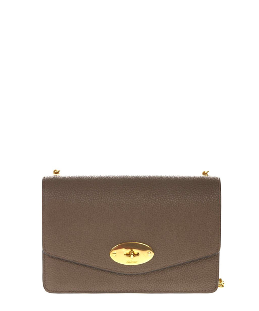 Medium Lily brown leather crossbody Sale - MULBERRY
