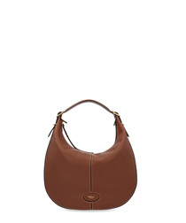 Small Selby brown leather shoulder bag