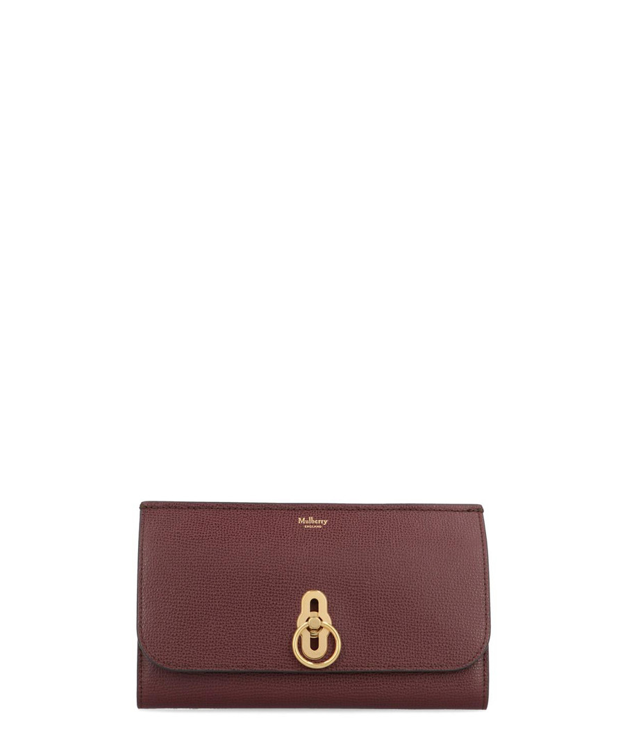 Amberley oxblood leather wallet Sale - mulberry