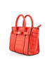 Micro Bayswater red leather shopper Sale - MULBERRY Sale