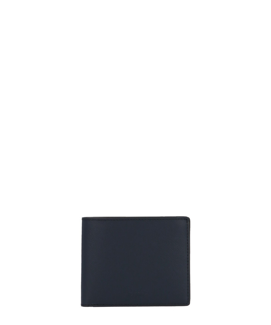 Navy leather cardholder Sale - MULBERRY