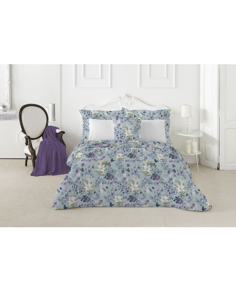 Nordicos blue print s.king duvet set Sale - pure elegance