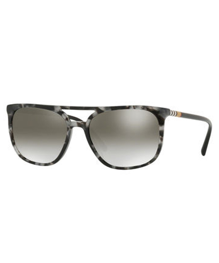 grey Havana & mirror sunglasses Sale - burberry