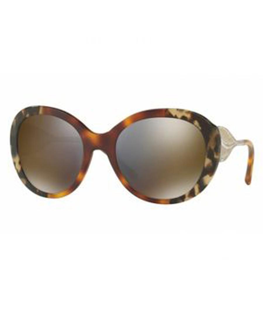Havana rounded sunglasses Sale - burberry