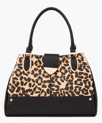 Darlow Leopard printed grab bag