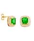 Juliet gold-plated lime earrings Sale - bertha Sale