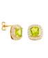 Juliet gold-plated pale lime earrings Sale - bertha Sale