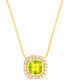 Juliet yellow gold-plated lime necklace Sale - bertha Sale