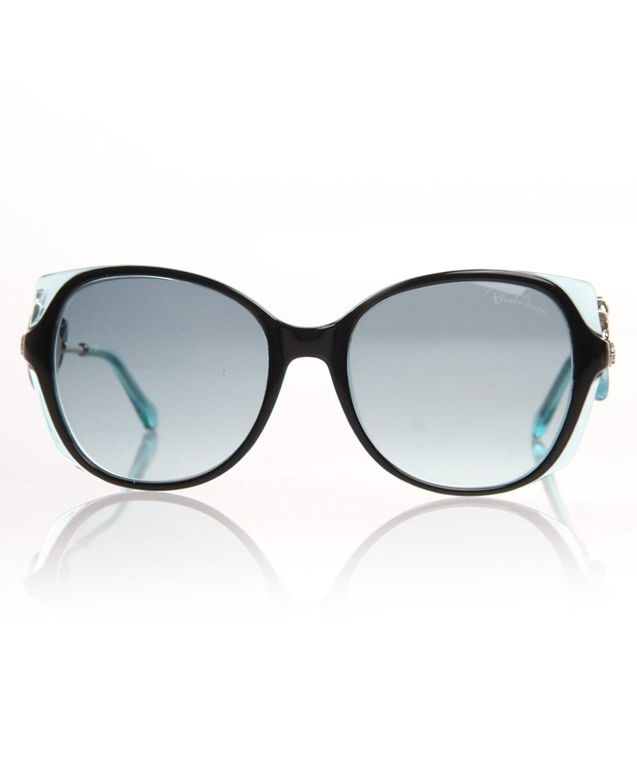 Black & blue lens sunglasses Sale - Roberto Cavalli