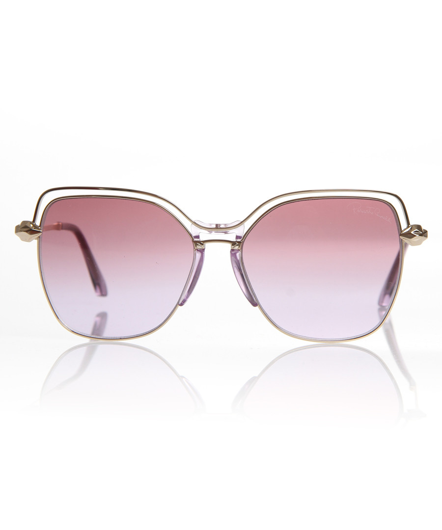 Violet wire frame sunglasses Sale - Roberto Cavalli
