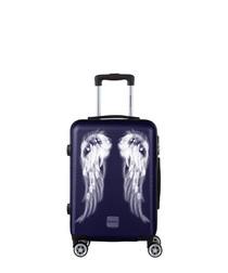 Athena navy cabin luggage suitcase 55cm