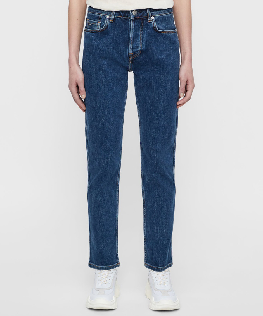 Study Day mid blue cotton jeans Sale - J Lindeberg