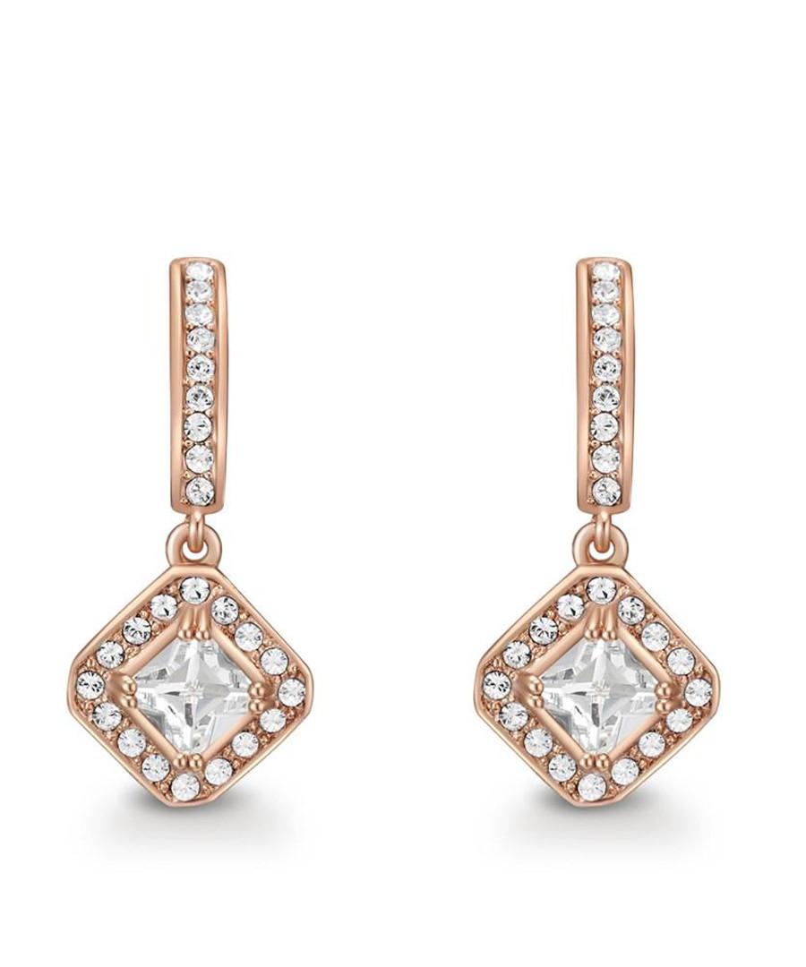 Elina rose gold-tone Swarovski earrings Sale - mestige