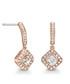 Elina rose gold-tone Swarovski earrings Sale - mestige Sale