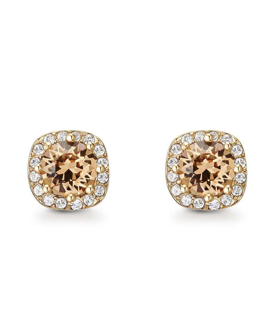 Halle gold-tone Swarovski earrings Sale - mestige