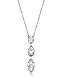 Evaliah silver-tone Swarovski necklace