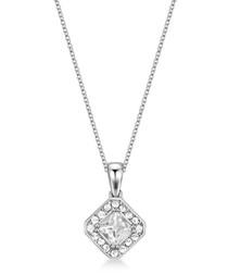 Thea silver-tone Swarovski necklace