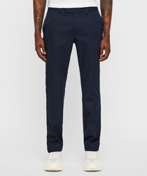 Grant 2.0 Travel navy cotton trousers