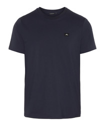 Bridge navy pure cotton T-shirt