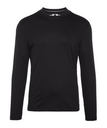 Colin Fine black pure cotton sleeve top