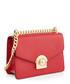 Saffiano red & gold-tone leather bag Sale - prada Sale