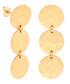 Marigold gold-plated disc earrings Sale - sole du soleil Sale