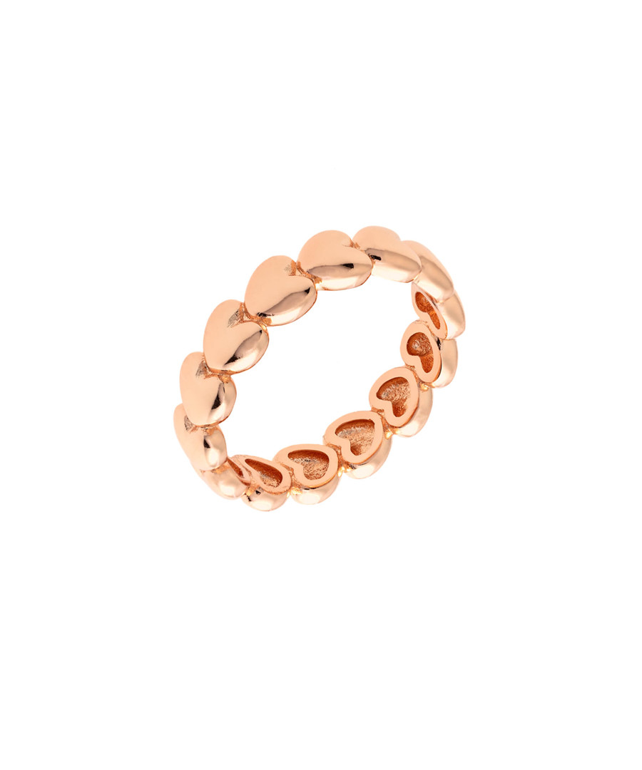 Daffodil 18k rose gold-plated ring Sale - sole du soleil
