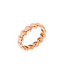 Daffodil 18k rose gold-plated ring