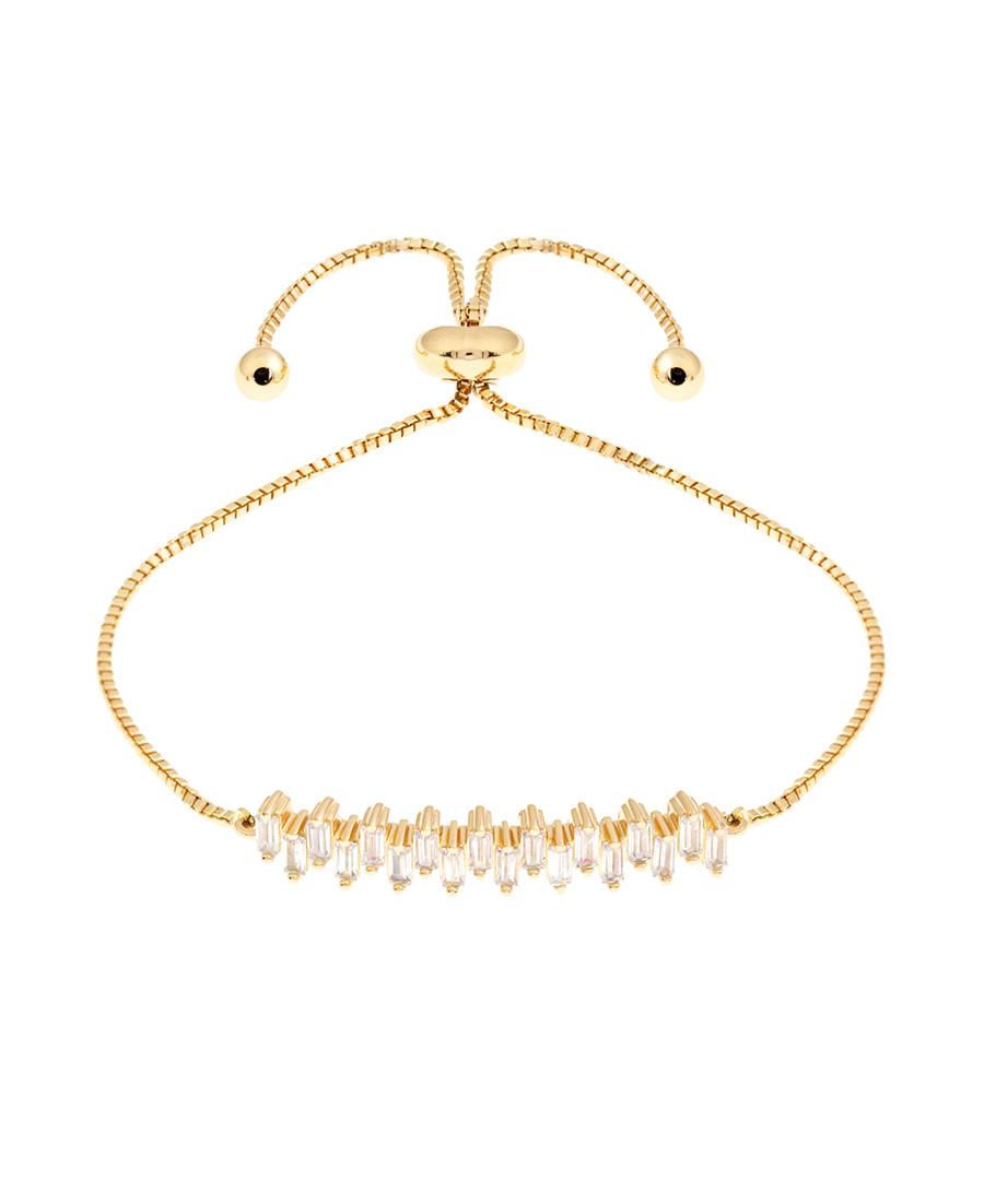Petunia 18k yellow gold-plated bracelet Sale - sole du soleil