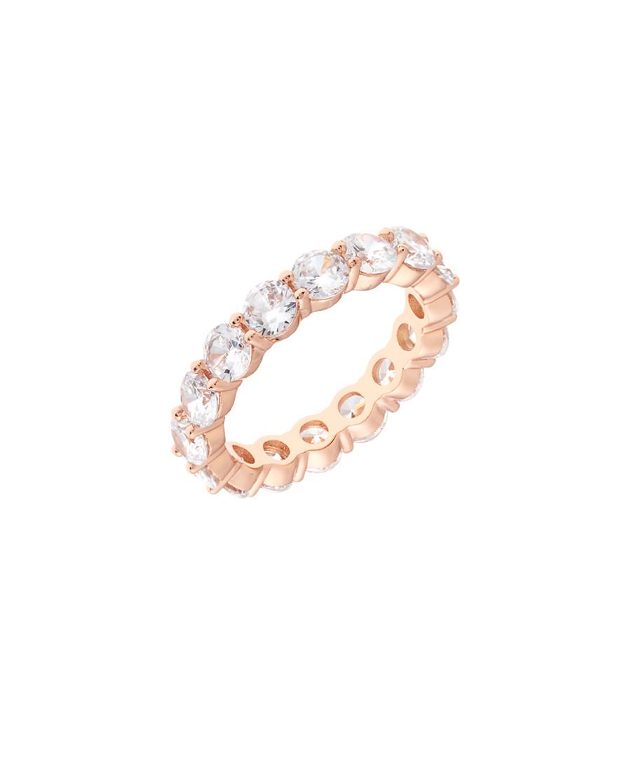 Marigold 18k rose gold-plated cubic ring Sale - sole du soleil