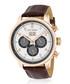 Montesquieu rose gold-tone & brown watch Sale - jost burgi Sale
