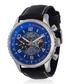 Racing silver-tone & black leather watch Sale - jost burgi Sale